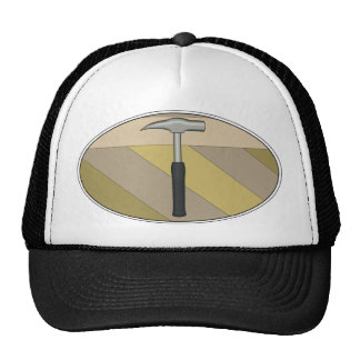 Rock Hammer Print Trucker Hat