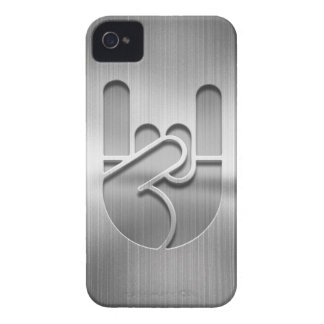 Rock Hand Steel iPhone 4 Case