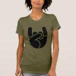 Rock Hand Stencil T-shirt