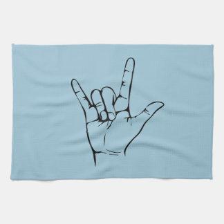 rock hand towels