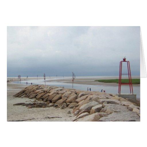 Rock Harbor, Cape Cod Card