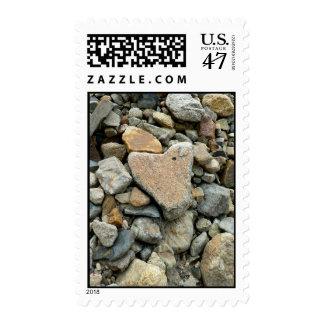 Rock Heart Postage