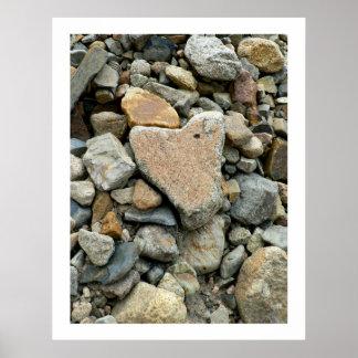 Rock Heart Poster