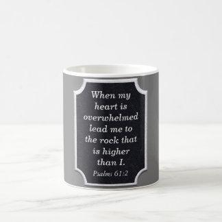 Rock higher than I - coffee mug