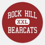 Rock Hill - Bearcats - High - Rock Hill Round Sticker