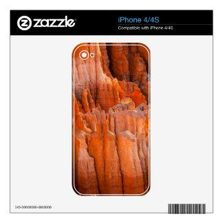 Rock Hoodoos in Morning Light iPhone 4S Decal