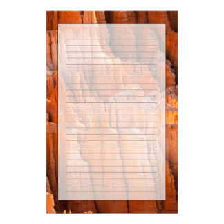 Rock Hoodoos in Morning Light Stationery