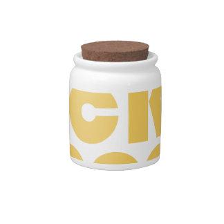 Rock Hopper Candy Jars