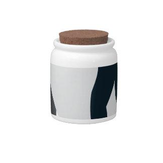 Rock Hopper Penguin Candy Jar