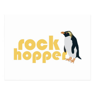 Rock Hopper Postcard