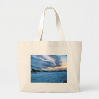Rock Ice Sky Sun by Ozborne Whilliamsson Bags