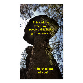 Rock I'll Be Thinking Of You Bookmark Business Card