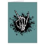 Rock in Bone Greeting Card