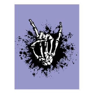 Rock in Bone Postcard