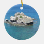 Rock in the Mediterranean Christmas Tree Ornament