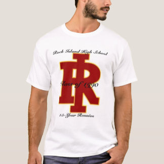 Rock Island High School 15 Yr Reunion T-Shirt