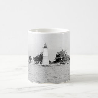 Rock Island Lighthouse Coffee Mug