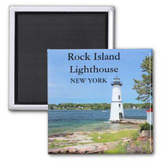 Rock Island Lighthouse, New York Magnet