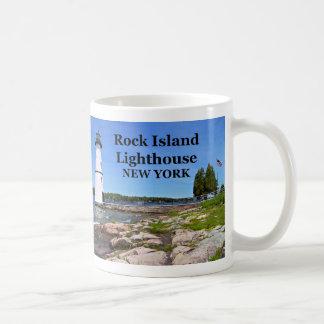 Rock Island Lighthouse, New York Mug