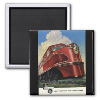 Rock Island Lines 1941 Alco Diesels Magnets