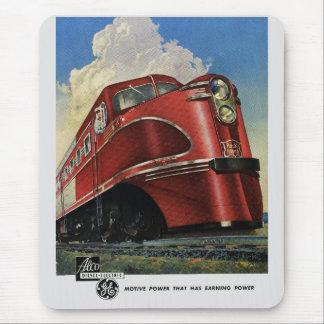 Rock Island Lines 1941 Alco Diesels Mousepad