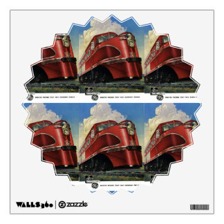 Rock Island Lines 1941 Alco Diesels Wall Decal