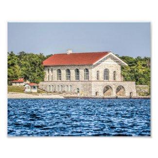 Rock Island Wisconsin Boathouse Door County Photo Print