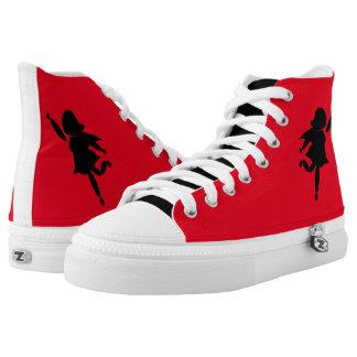 Rock-it-girl. Zipz High Top Shoes, US-Women 6