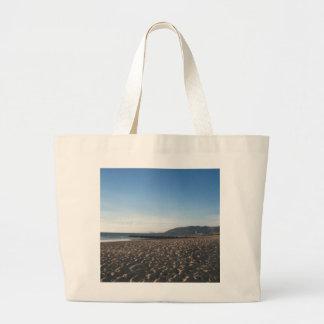 Rock Jetty on Ventura Beach Canvas Bag