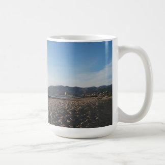 Rock Jetty on Ventura Beach Coffee Mug