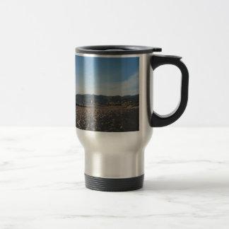 Rock Jetty on Ventura Beach Travel Mug