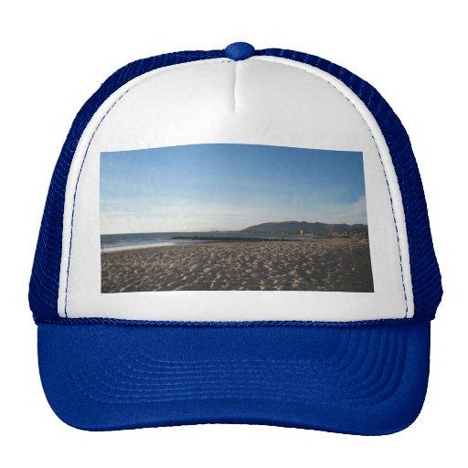 Rock Jetty on Ventura Beach Trucker Hat