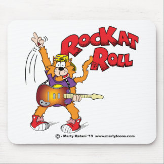 Rock Kat Roll Mouse Pad