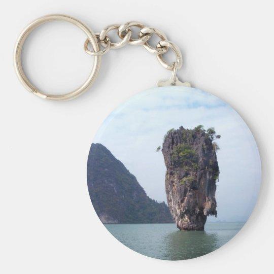 Rock Keychain