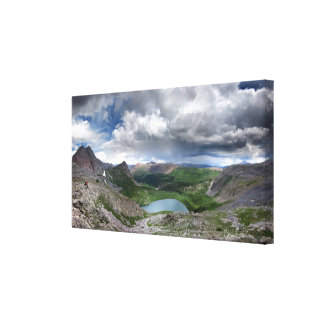 Rock Lake - Weminuche Wilderness - Colorado Canvas Print