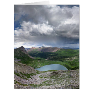 Rock Lake - Weminuche Wilderness - Colorado Card
