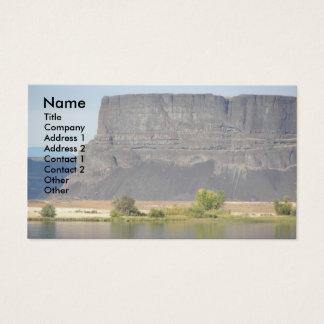 Rock Landscape Photo Business Card