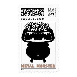 Rock=Life 'Metal Monster - Vlad Mayhem' Stamps