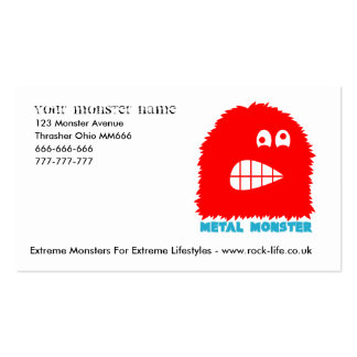 Rock=Life 'Monster Business Card'