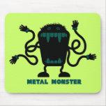"Rock=Life ""monstruo"" Mousepad del metal Alfombrillas De Ratones"