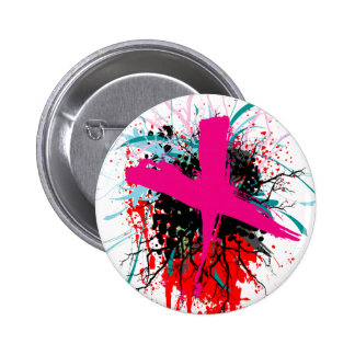 Rock=Life 'X-Rated' Badge Pinback Button