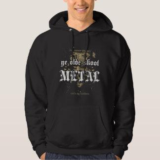 Rock=Life 'Ye Olde Skool Metal' Extreme Vintage Hooded Sweatshirt