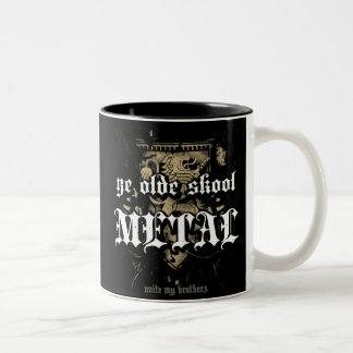 Rock=Life 'Ye Olde Skool Metal' Mug