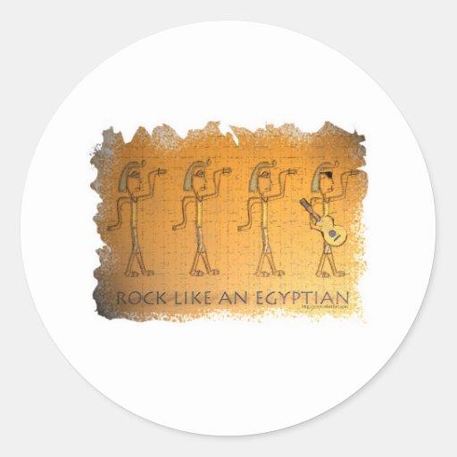 Rock Like an Egyptian Sticker