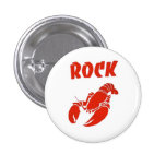 Rock Lobster 1 Inch Round Button