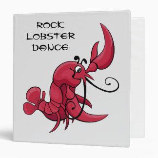 Rock Lobster Dance 3 Ring Binder