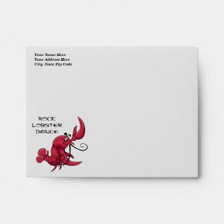 Rock Lobster Dance Envelope