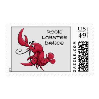 Rock Lobster Dance Postage
