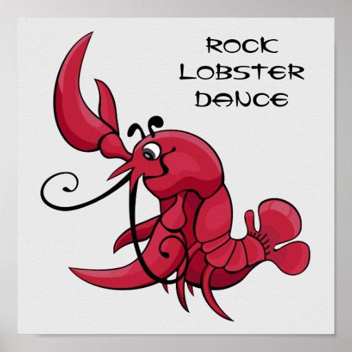 Rock Lobster Dance Posters