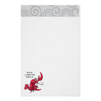 Rock Lobster Dance Stationery